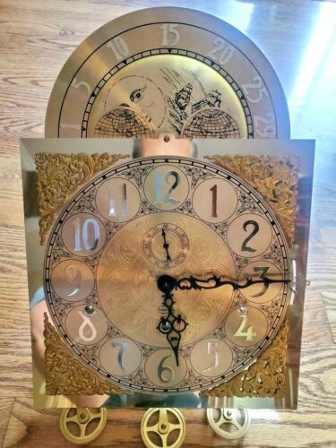 Ethan Allen Triple Chime Complete Clock Dial Face Movement Model 3045 Germany
