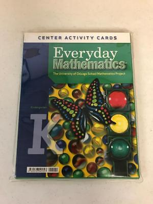 Everyday Mathematics Center Activity Cards K Kindergarten Pack of 38 - Kindergarten Activity Pack