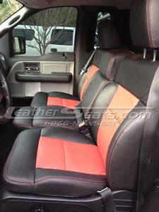 2004 2008 ford f 150 f150 regular cab leather seat covers custom interior new ebay. Black Bedroom Furniture Sets. Home Design Ideas