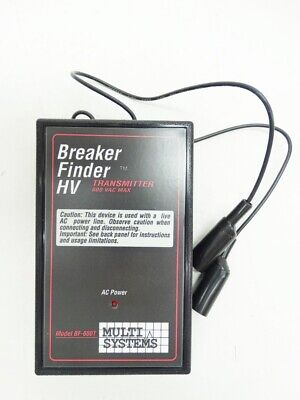 New Multi Systems Corp Bf-600t Circuit Breaker Finder Hv Transmitter Only