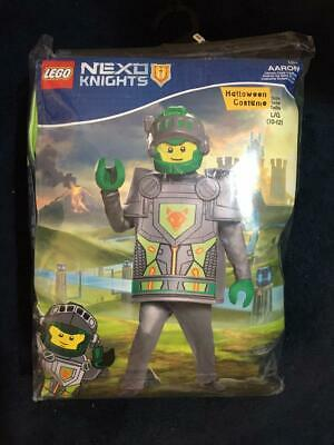 LEGO NEXO KNIGHTS Boys Halloween Costume AARON Sz (L) 10-12 NEW BAG OPEN