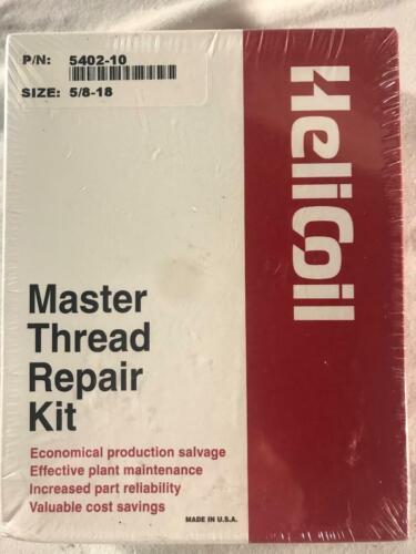 HELICOIL 5402-10 MASTER THREAD REPAIR KIT 5/8-18