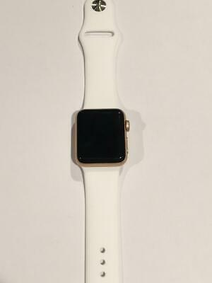 Apple Watch Series 3 38mm Gold with White Sport Band (GPS + LTE) 38 mm