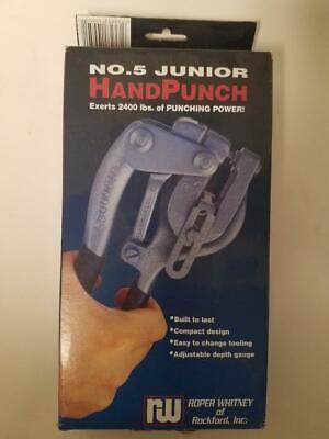 Roper Whitney Hand Punch No. 5 Junior No. 135010050