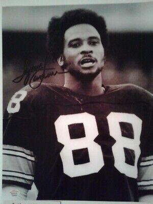 Pittsburgh Steelers Lynn Swann Hand-Signed Autographed 8x10 Rare b/w Photo w/COA