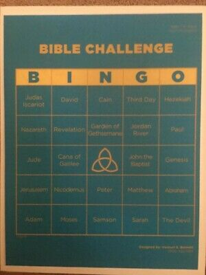Bible Bingo Game (Bible Challenge)](Bible Bingo Game)