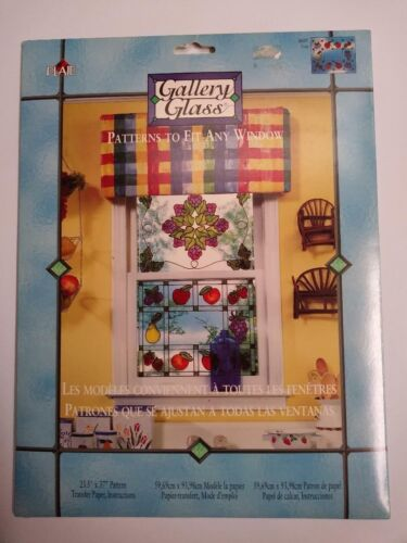 Gallery Glass Fruit Patterns To Fit Any Window 16107