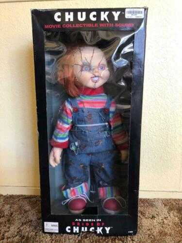 """Spencer Gifts Chucky 24"""" Movie Collectible with Sound As Seen in Bride of Chucky"""