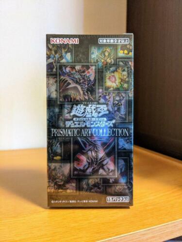 Yugioh OCG PRISMATIC ART COLLECTION BOX Yu-gi-oh black card box Unopened