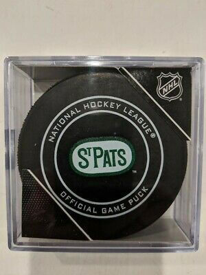 EAFS Official Game Puck St Pats Day (St Pats Day)