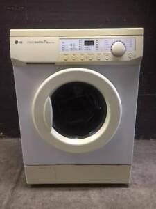 Free delivery LG 7 kg front loader washer machine