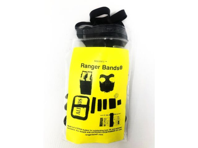 Ranger Bands® 20 Large Heavy Duty Rubber Bands Made of EPDM Rubber Survival Gear