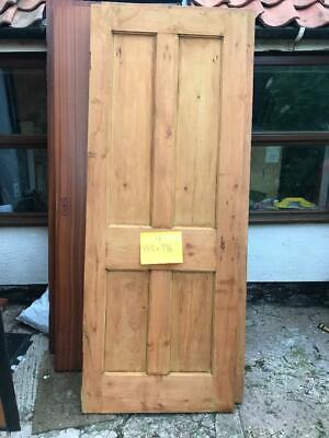 stripped pine door reclaimed