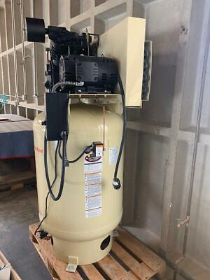 Ingersoll Rand Two-stage Air Compressor 10 Hp New-old Woodworking Machinery