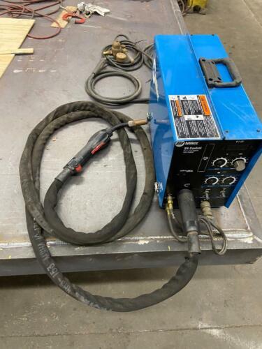 Miller Mig XR Control Extended Reach Aluminum Wire Feeder & Push Pull Gun NICE