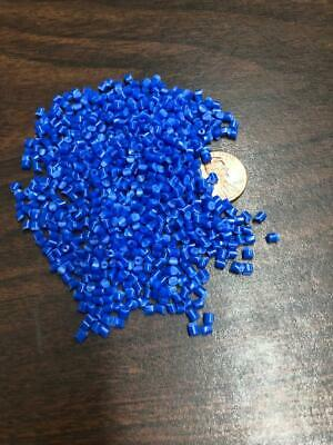 Pp Plastic Pellets Polypropylene Resin Material Injection Molding Blue 10 Lbs