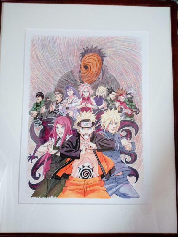 NARUTO Reproduction Original Picture ROAD TO NINJA -NARUTO THE MOVIE F/S from JP