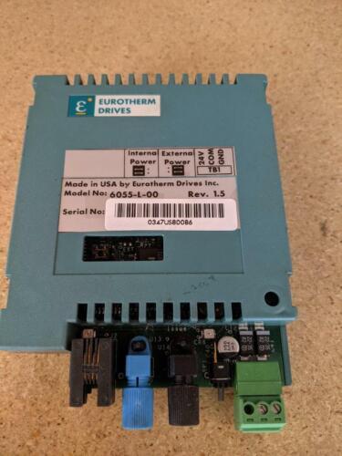 Parker SSD Eurotherm Drives 6055-L-00 Rev 1.5 Fiber optic Link Card TECHBOX