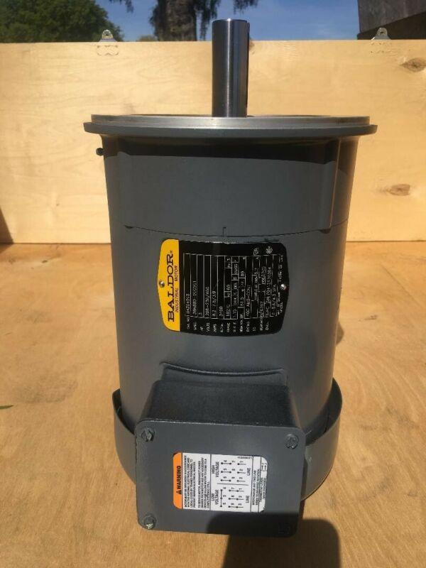 Baldor Motor 3HP 230/460V 60HZ 3 Phase 182TC 84z04015