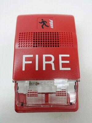 Nib Edwards Est Genesis G1rf-hdvm Red Multi-cd 24 Vdc Fire Alarm Horn And Strobe