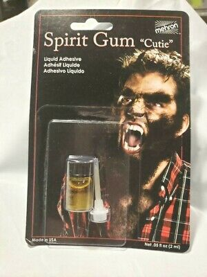 Spirit Gum Adhesive (Spirit Gum Liquid Adhesive Mustaches Wigs Toupees Facial Hair Free Fast)