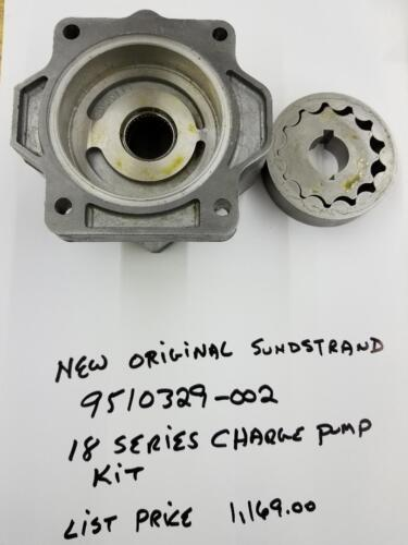 Genuine Sundstrand 18 Series Charge Pump Kit  Hydraulic Pump Hpx-9510329-002