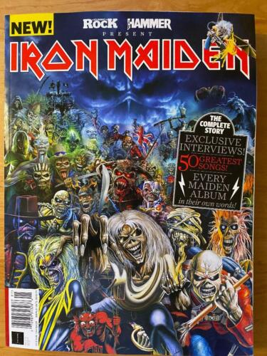 IRON MAIDEN COMPLETE STORY 50 Greatest Songs METAL HAMMER Magazine EVERY ALBUM