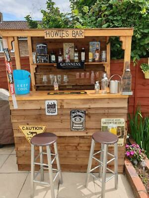 Garden Bar ( Fresh Wood)