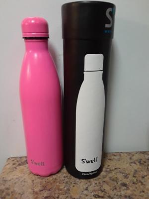 Swell Vacuum Insulated Stainless Steel Water Bottle, 25 oz, Bikini Pink