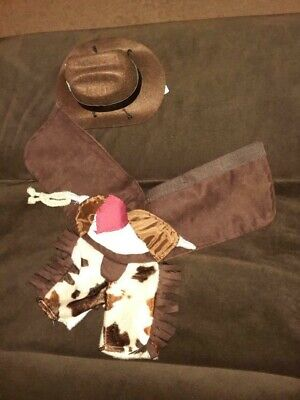 Halloween Costume Dog (Gramercy Studio Cowboy Halloween Costume Dog / Pet Size Extra Small)