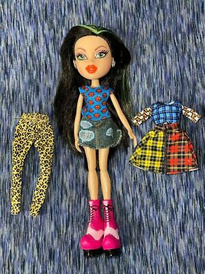 Bratz Hello My Name is Jade Doll Figure w/ Extra Clothes
