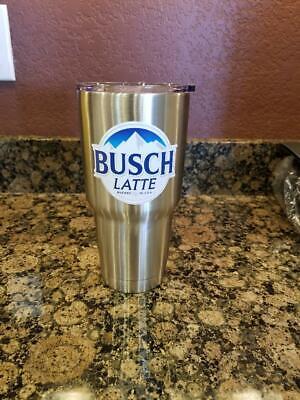 30oz Busch Latte Beer Sticker Cooler Bud Budweiser Light brew koozie mug TUMBLER](Busch Light Stickers)