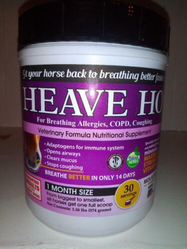 Equine Horse Heave Ho Improves Breathing, Chronically Allergic Airway *REDUCED$$