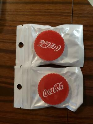 (2) Coca-Cola Pop Socket Collapsible Phone Grip Stand NEW Unopened Packages