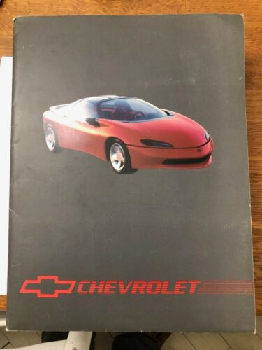 ORIGINAL1990 Chevrolet Concept IROCz Camaro Press Kit Media Release PHOTO LINEUP