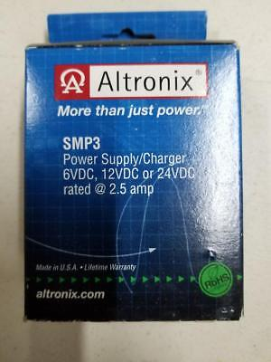 Altronix Smp3 Power Supplycharger