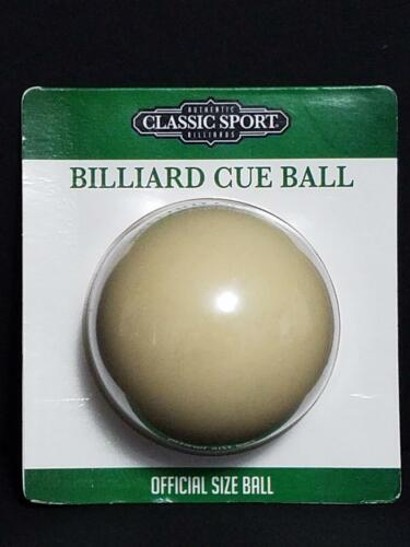 Billiard Cue Ball Official Size Authentic Billiards Classic Sport FAST SHIP B2
