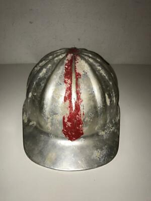 Vintage Superlite Aluminum Hard Hat Fibre Metal Laborer