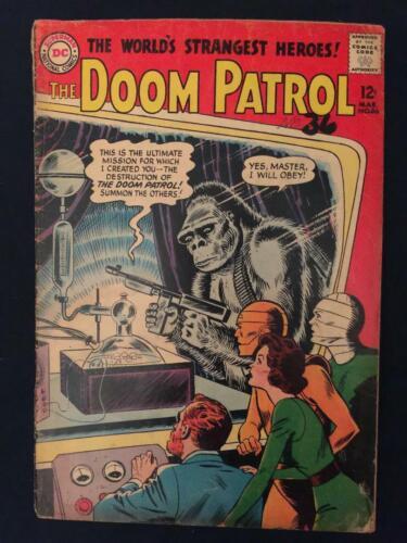 DOOM PATROL #86 (1964) 1st Issue of own title, 1st Brotherhood of Evil - G/VG