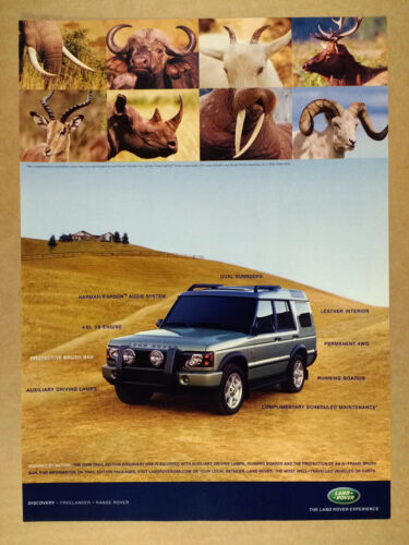 2004 Land Rover Discovery Trail Edition vintage print Ad