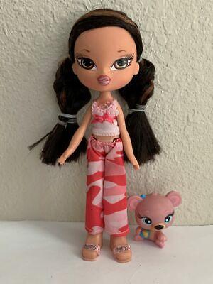Girlz Girl Bratz Kidz (Super Secret Makeup) Jade Doll Original Clothes Shoes