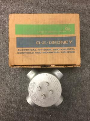O-z Gedney Guax-75 Type Gu Outlet Box-type X