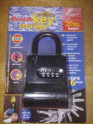 Shurlok Key Storage Sl-200 4 Number Code Winstructions