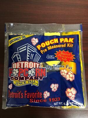 Popcorn Coconut Oil 4 Oz. Kit 24 Packs Naks Paks