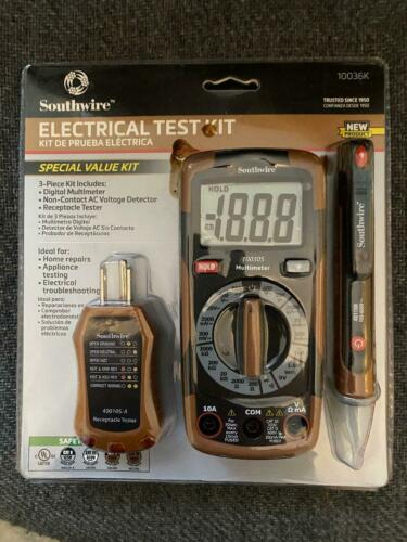 Southwire 10037K Electrical Test Kit Home Improvement
