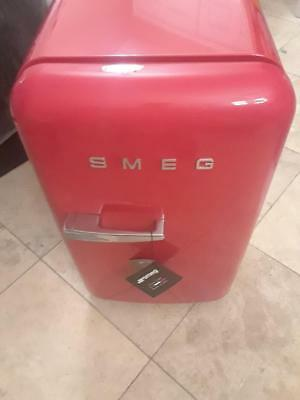 New!  Red SMEG 1.5 Cu. Ft. Vintage Retro 50's Style Mini Refrigerator Fridge