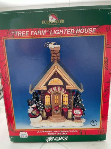 SnowTown Tree Farm Lighted House
