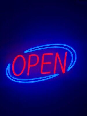 Open Sign Led Slim Durable Neon