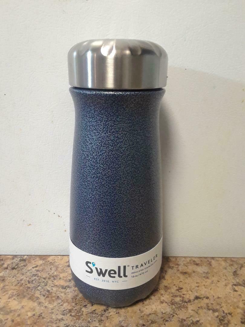 S'well Stainless Steel Travel Mug, 16 oz, Night Sky