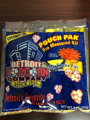 Popcorn Coconut Oil 6 Oz. Kit 36 Packs Naks Paks